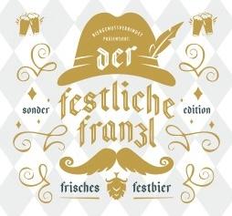 der festliche  Franzl - Biergenussverbindet